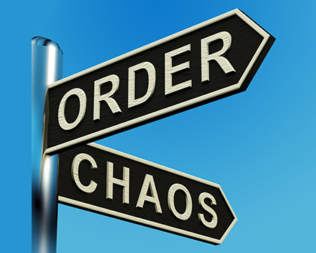Order Chaos Sign